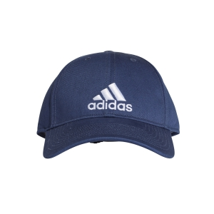 Tennis Hats and Visors Adidas 6 Panel Classic Cotton Cap  Navy/White CF6913