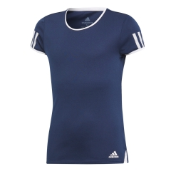 Adidas Niña Club Camiseta - Collegiate Navy