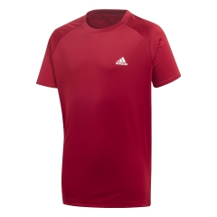 Adidas Adidas Club TShirt Boy  Collegiate Burgundy  Collegiate Burgundy EJ7047