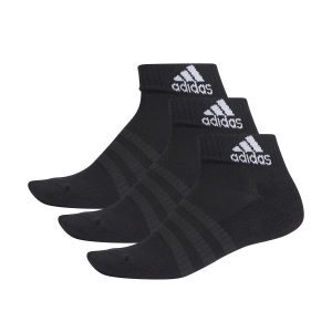 Tennis Socks Adidas Cushioned X 3 Socks  Black DZ9379
