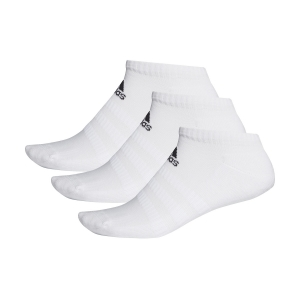 Tennis Socks Adidas Cushioned Low X 3  Socks  White DZ9384