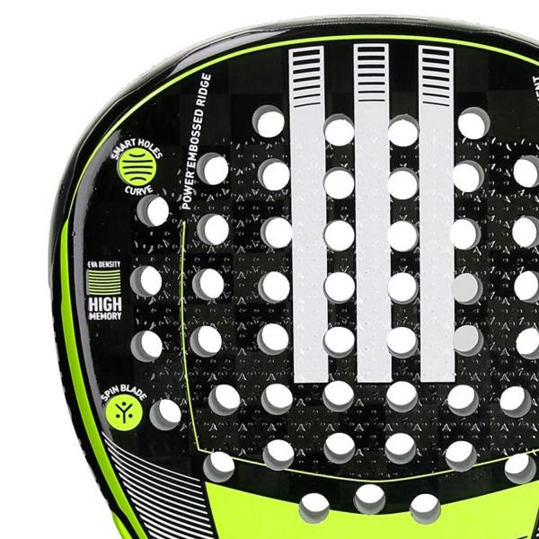 Adidas Adipower Attk 1.8 Padel - Black/Volt