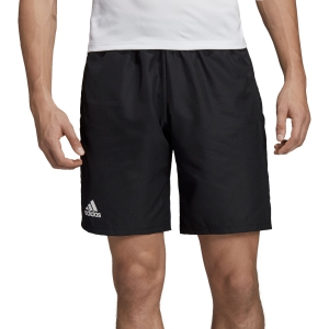 Men's Tennis Shorts Adidas Club 9in Shorts  Black/White DU0877