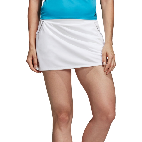 6972d72dfe9 Adidas Club Falda Tenis Mujer - Blanco
