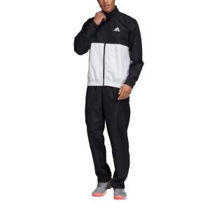 Men's Tennis Suit Adidas Club TrackSuit  Black/White DU0887