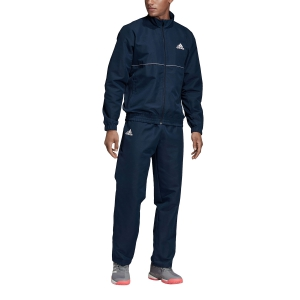 Men's Tennis Suit Adidas Club TrackSuit  Navy/White DP7454