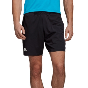 Pantaloncini Tennis Uomo Adidas Escouade 7in Shorts  Black DY2413