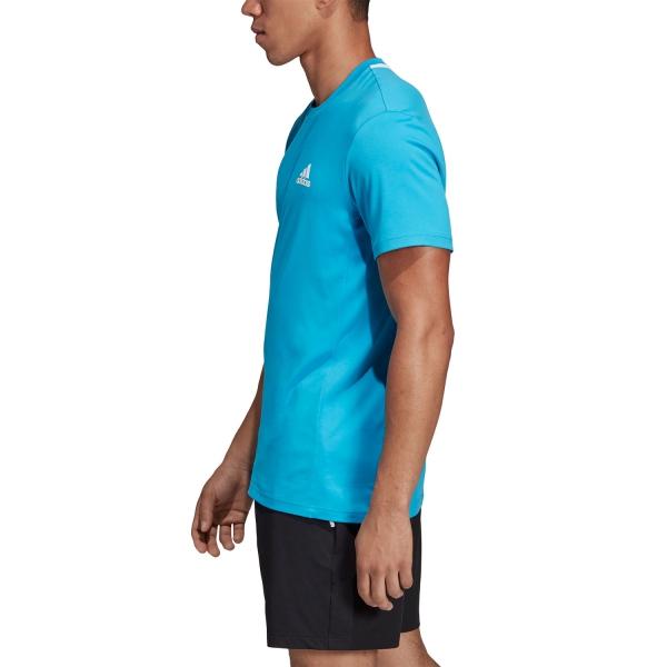 Adidas Escouade T-Shirt - Blue/White
