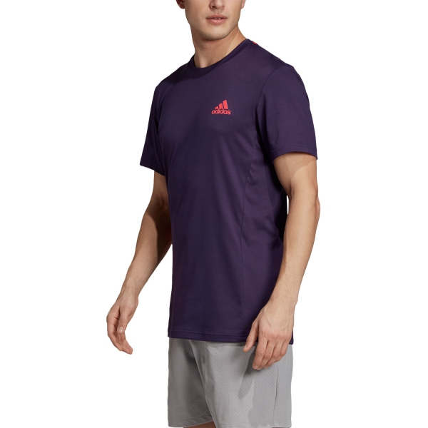 Adidas Escouade T-Shirt - Violet/Fuxia