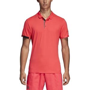 Men's Tennis Polo Adidas MatchCode Polo  Fluo Pink DP0293