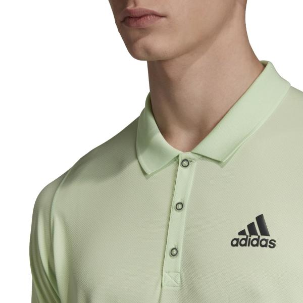 Adidas New York Polo - Glow Green/Carbon