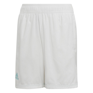 Tennis Shorts and Pants for Boys Adidas Boy Parley Shorts  White/Light Blue DU2458