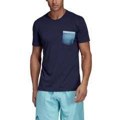 Adidas Parley Pocket T-Shirt - Navy