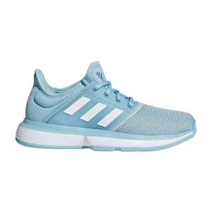 Calzado Tenis Niños Adidas Junior SoleCourt  Light Blue CG6463