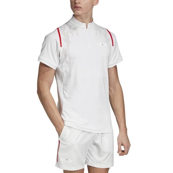 Adidas Stella McCartney Court Zipper T-Shirt - White