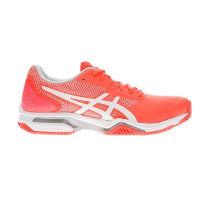 Padel Shoes Asics Gel Lima Padel 2  Flash Coral/White 1042A034700