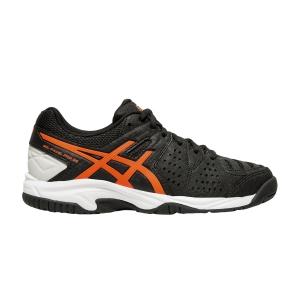 Padel Shoes Asics Gel Padel Pro 3 GS Boy  Black/Flash Coral C505Y001
