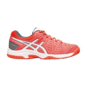 Padel Shoes Asics Gel Padel Pro 3 GS Girl  Flash Coral/White C505Y702