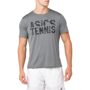 Maglietta Tennis Uomo Asics Practice TShirt  Grey 2041A033.020