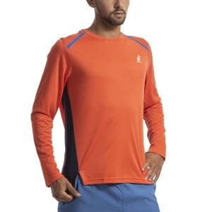 Maglie e Felpe Tennis Uomo Australian Ace Maglia  Arancio I9078515149