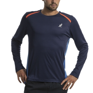 Maglie e Felpe Tennis Uomo Australian Ace Maglia  Blu I9078515842