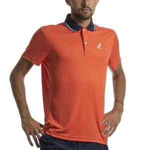 Polo Tennis Uomo Australian Ace Polo  Arancio I9078216149