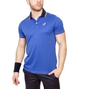 Polo Tennis Uomo Australian Ace Polo  Blue/Navy/Orange 78216B55
