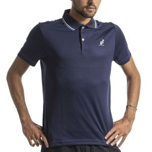 Polo Tennis Uomo Australian Ace Polo  Blu I9078216842