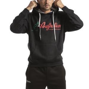 Men's Tennis Shirts and Hoodies Australian Big Logo Hoodie  Nero I9088634003