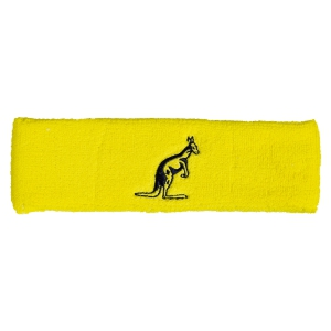 Tennis Head and Wristbands Australian Headband  Yellow/Navy 29300186