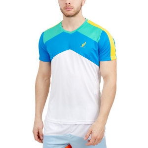 Maglietta Tennis Uomo Australian Performance Ace TShirt  White 78524002