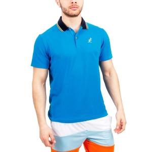 Polo Tennis Uomo Australian Performance Polo  Light Blue/Navy 78232626