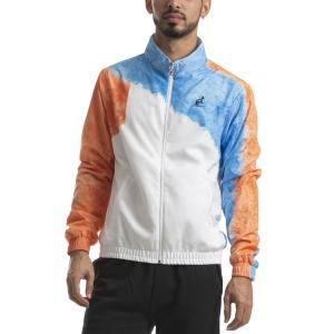 Men's Tennis Jackets Australian Retro Smash Giacca  Bianco/Azzurro/Arancio I9078628001