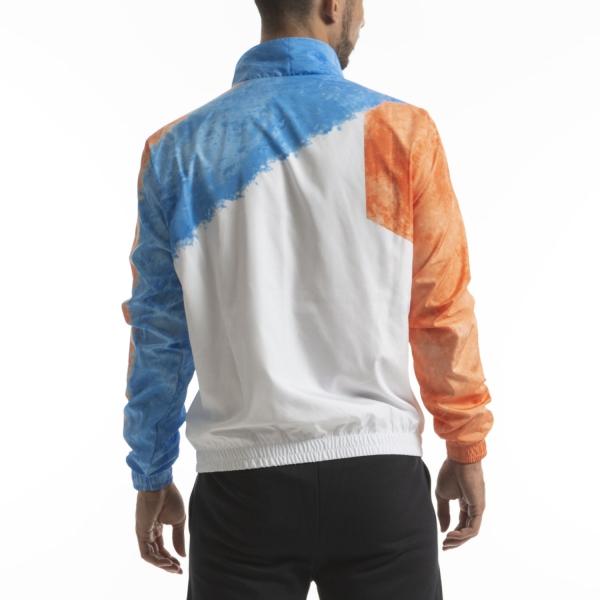 Australian Retro Smash Giacca - Bianco/Azzurro/Arancio