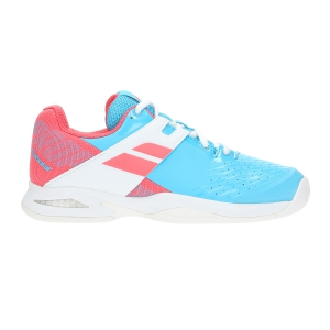 Scarpe Tennis Junior Babolat Propulse All Court Bambina  Light Blue/Pink 33S194784044