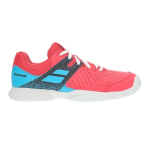 Calzado Tenis Niños Babolat Junior Pulsion All Court  Pink/Blue 33S194825026
