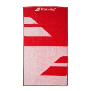 Various Accessories Babolat Medium Towel  White/Fiesta Red 5UA13911043