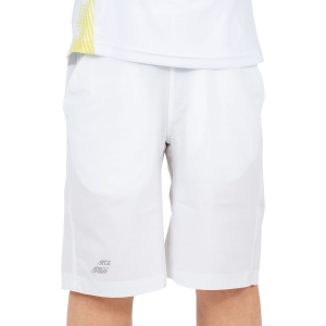 Tennis Shorts and Pants for Boys Babolat Boy Performance Xlong 9in Shorts  White 2BS190511000
