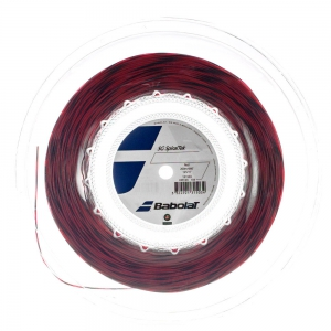 Multifilament String Babolat SG SpiralTek 1.25 200 m Reel  Red/Black 243124104125