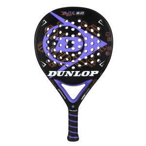 Padel Racket Dunlop Blitz Graphite Soft 2.0  Black/Purple 623775