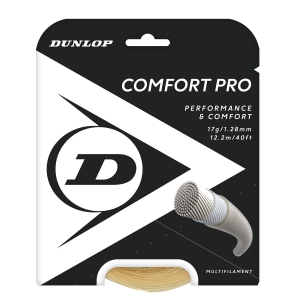 Multifilament String Dunlop Comfort Pro 1.28 Set 12 m  Natural 624814