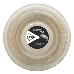 Corde Multifilamento Dunlop Comfort Pro 1.28 Matassa 200 m  Natural 624816