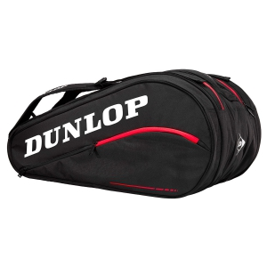 Tennis Bag Dunlop CX Team x 12 Bag  Black/Red 10282334