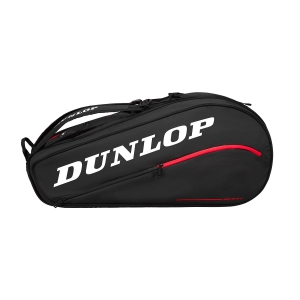 Tennis Bag Dunlop CX Team x 8 Bag  Black/Red 10282342