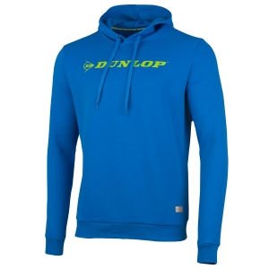 Maglie e Felpe Tennis Uomo Dunlop Essentials Hoodie  Light Blue/Green 71422