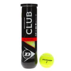 Dunlop Club All Court - Tubo da 4 Palline