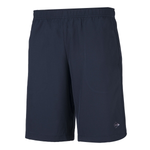 Pantaloncini Tennis Uomo Dunlop Woven Club 9in Shorts  Navy 71350