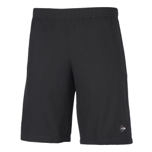 Pantaloncini Tennis Uomo Dunlop Woven Club 9in Shorts  Black 71351