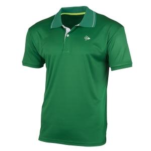 Polo Tennis Uomo Dunlop Club Polo  Green/White 71340