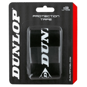 Accesorios Padel Dunlop Padel x 3 Protector  Black/White 623793